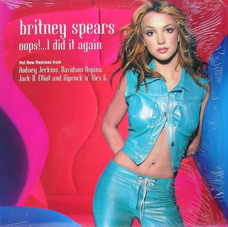 Britney Spears ‎– Oops!...I Did It Again