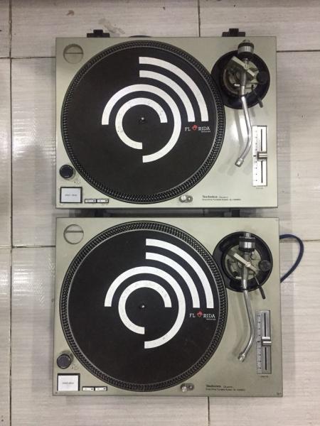 Toca Discos Technics SL1200 MK2 (O Par)