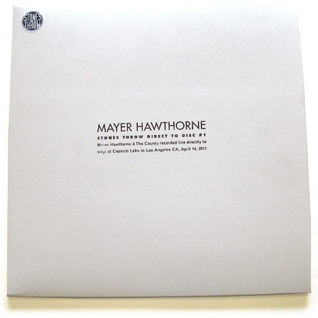 Mayer Hawthorne - Live Direct To Disc