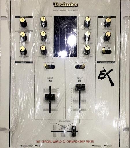 Mixer Technics EX SH DJ1200 Prata (Semi Novo)