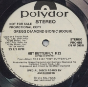 Gregg Diamond Bionic Boogie ‎– Hot Butterfly / Fess Up To The Boogie
