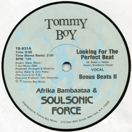 Afrika Bambaataa & Soulsonic Force – Looking For The Perfect Beat