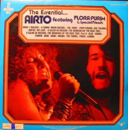 Airto Featuring Flora Purim ‎– The Essential Airto