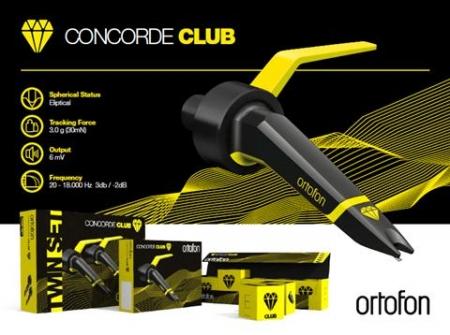 Shell Ortofon Concorde Club Twin Set Kit Duplo (LANCAMENTO)