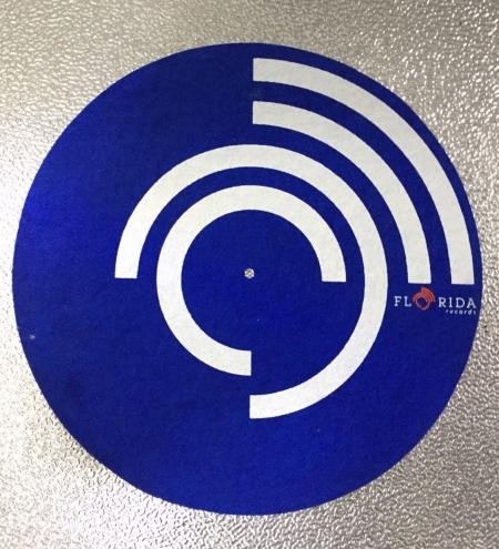 Feltro Florida Records Blue Espessura Fina UNIDADE