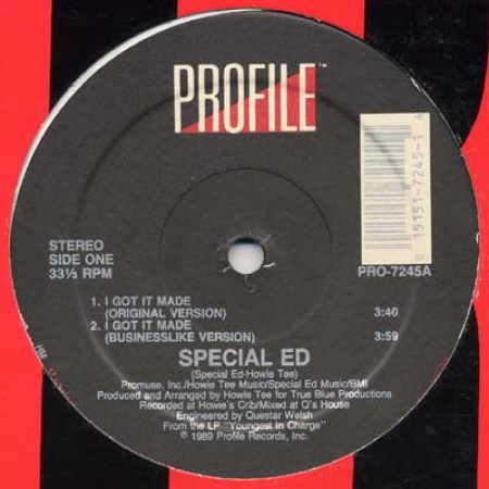 Special Ed ‎– I Got It Made / Hoedown