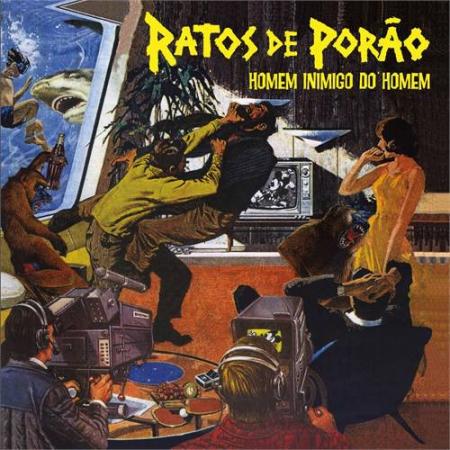 Ratos De Porão – Homem Inimigo Do Homem
