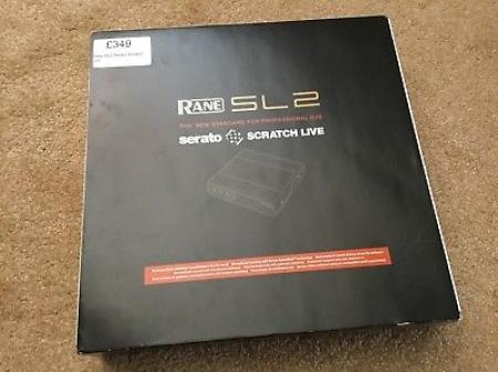 Serato SL 2 Scratch Live (Semi Novo Completo)
