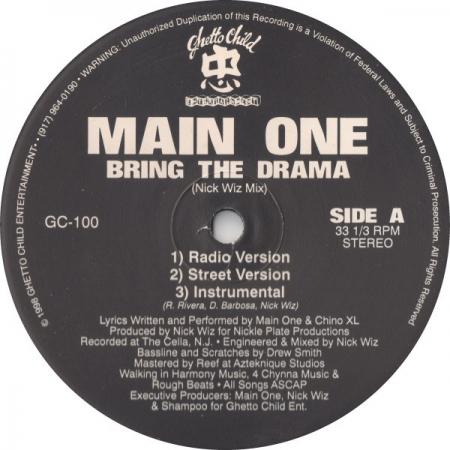 Main One ?– Bring The Drama
