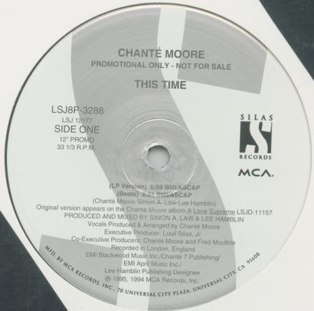 Chanté Moore ?– This Time