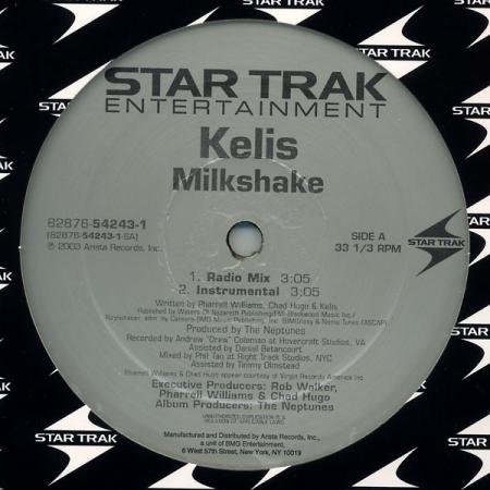 Kelis ?– Milkshake