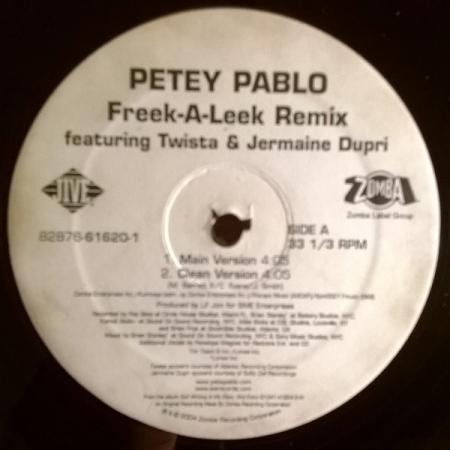 Petey Pablo – Freek-A-Leek Remix