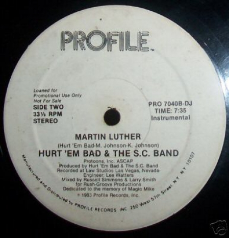Hurt Em Bad And The SC Band ?– Martin Luther