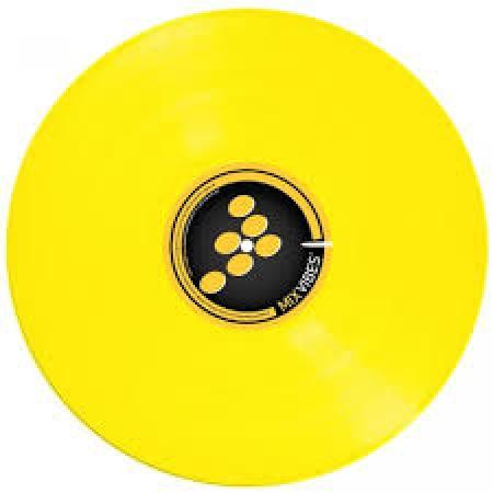 Timecode Mixvibes Control Vinil Yellow (O Par) Semi-Novo