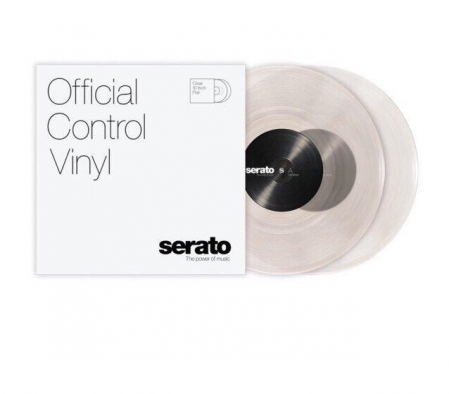 Timecode Serato Control Vinil Clear 10'' Inch (More Than A Piece Of Wax)