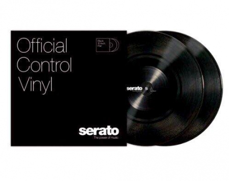 Timecode Serato Control Vinil Black (10'') (More Than A Piece Of Wax)