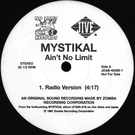 Mystikal ? Ain't No Limit (Featuring Silkk The Shocker )