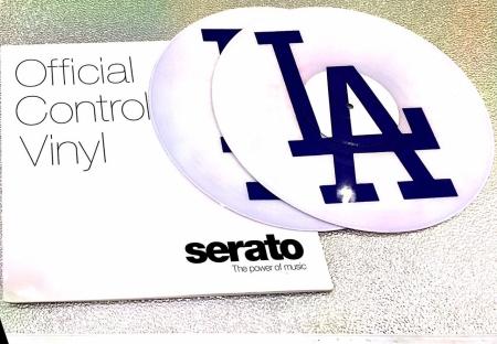 Timecode Personalizado Control Serato Los Angeles LA (O Par)
