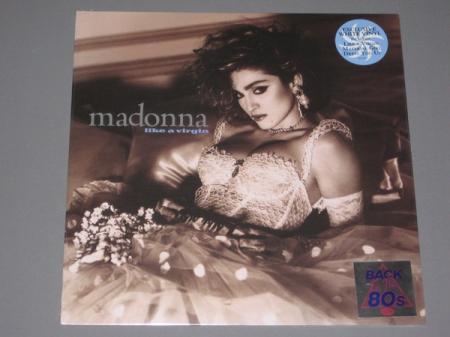 Madonna ?– Like A Virgin (Exclusivo Vinil Branco)