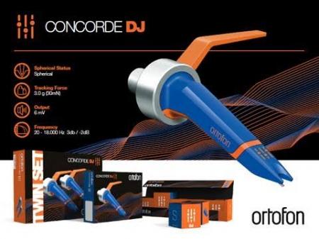 SHELL ORTOFON CONCORDE DJ TWIN SET KIT DUPLO (LANCAMENTO)