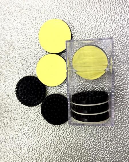 Suporte de Pés Ant Vibrante Para Toca Discos (Kit c 8 Unidades p/ Par de Toca Discos)