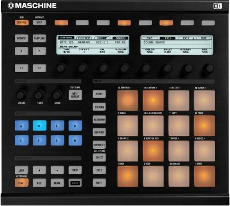 Maschine Native Instruments MK1 (Sem Caixa)