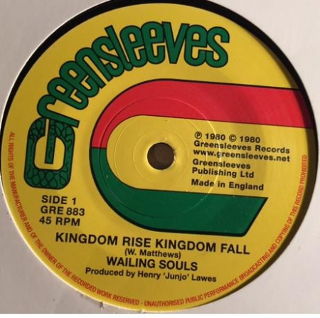 Wailing Souls ?– Kingdom Rise Kingdom Fall
