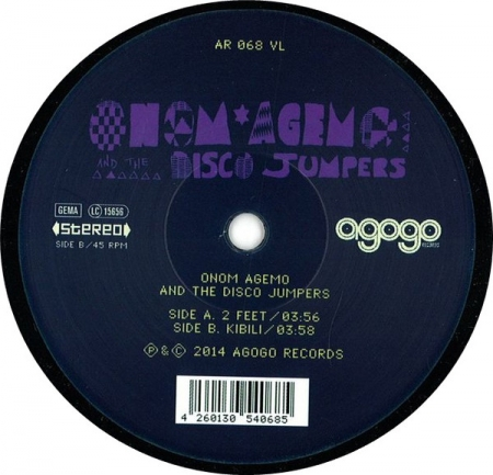 Onom Agemo And The Disco Jumpers ?– 2 Feet / Kibili