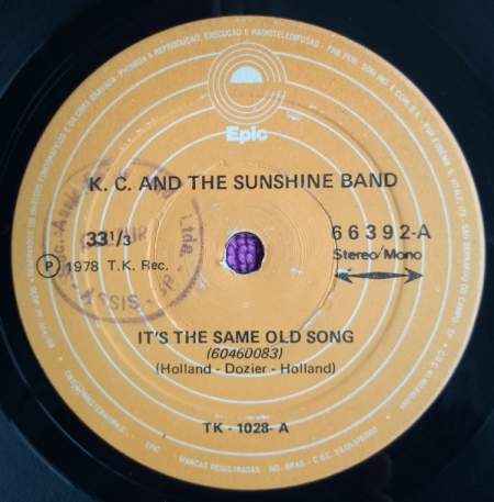 K.C. And The Sunshine Band ?– It's The Same Old Song