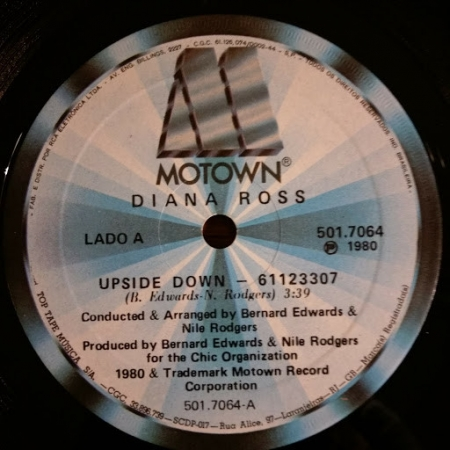Diana Ross ?– Upside Down
