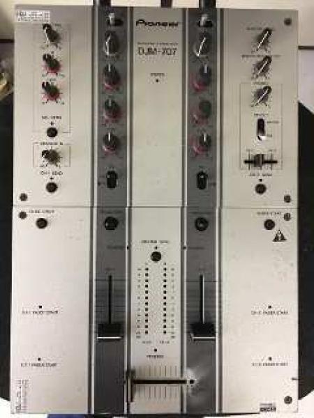 MIXER DJM-707 PIONEER (PRODUTO USADO)