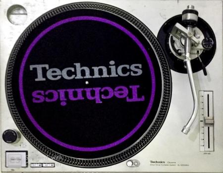 Toca Discos Technics SL 1200 Mk2 Prata (AC 120 Volts) UNIDADE