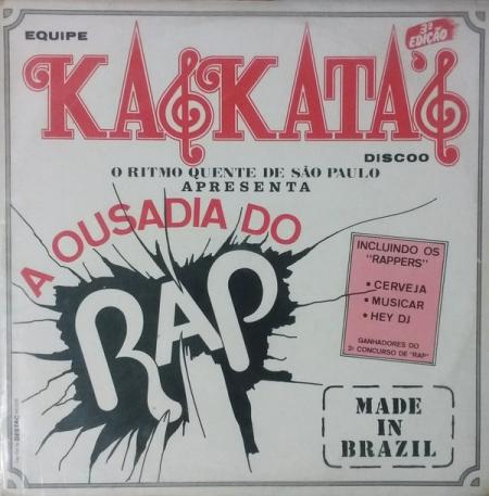 Ousadia Do Rap - Made In Brazil