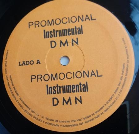 Dmn Cada Vez + Preto Instrumental (Promo Raro)