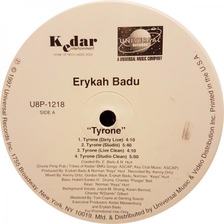 Erykah Badu ?– Tyrone