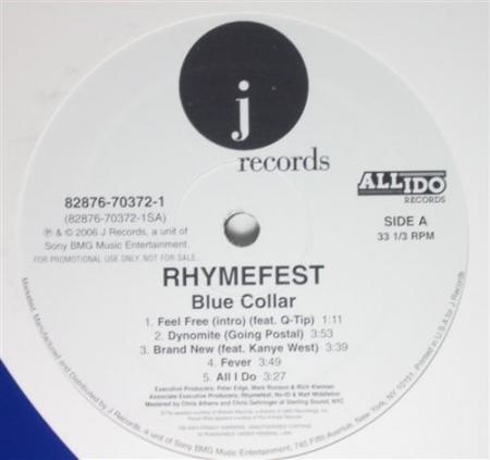 Rhymefest ?– Blue Collar