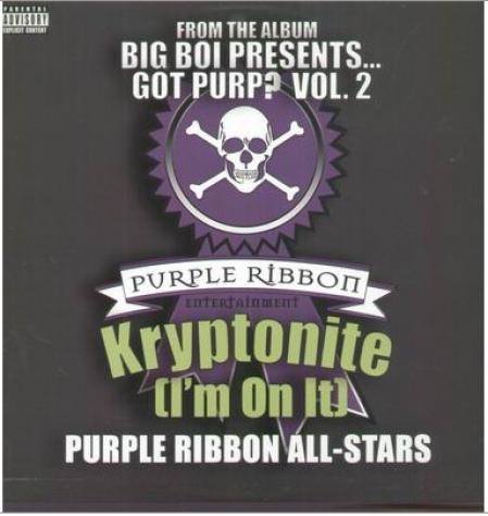 Purple Ribbon Allstars ?– Kryptonite (I'm On It)