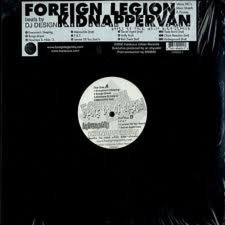 Foreign Legion ?– Kidnapper Van (Instrumentals)