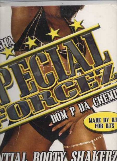 Dj Trasha & Dom P Da Chemist ?– Essential Booty Shakerz, The Vinyl Mixtape