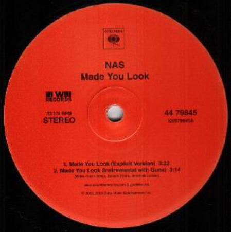 Nas ?– Made You Look