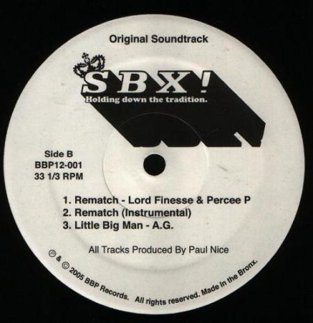 SBX! Original Soundtrack EP