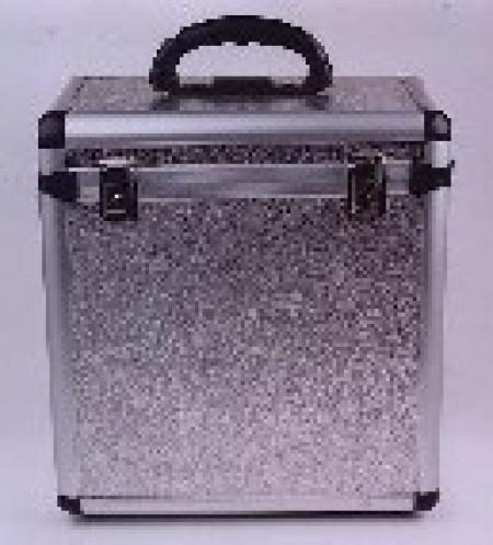 Case para Vinil 65 Discos Prata