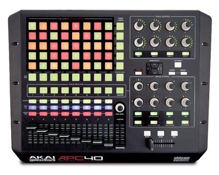 Controle de Ableton Akai Pro APC40