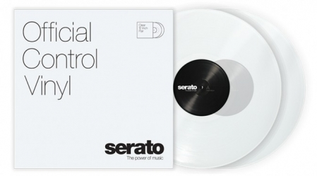 TIMECODE SERATO CONTROL VINYL CLEAR 12 INCH (PAIR)