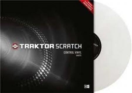 Disco Vinyl Traktor - Transparente