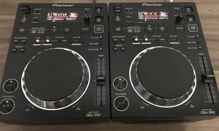 CDJ 350 Pioneer (O Par)