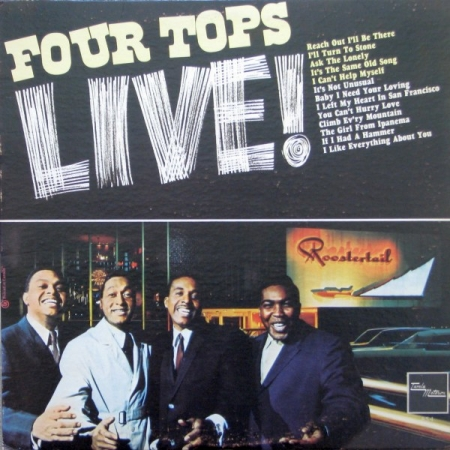 Four Tops-Four Tops Live