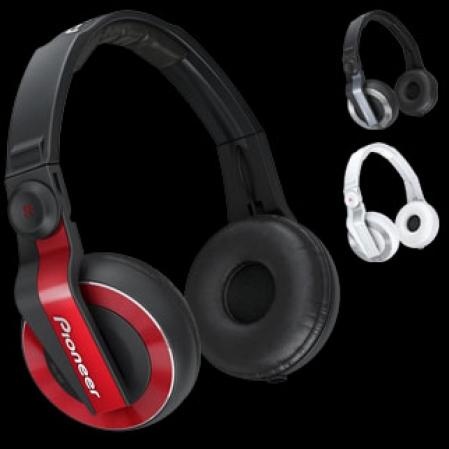 Fone Pioneer HDJ500 - Vermelho