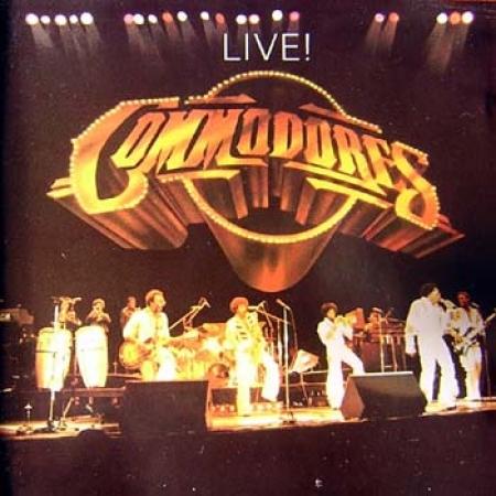 Commodores-Live Lp