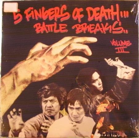 Dj Paul Nice - 5 Finger Of Death Battle Breaks Vol 3